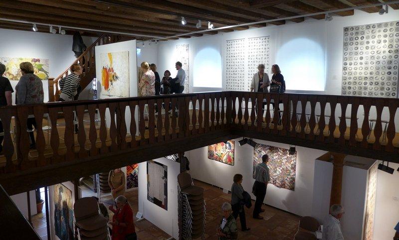 6. Europäische Quilt-Triennale, Heidelberg Foto: Gudrun Heinz
