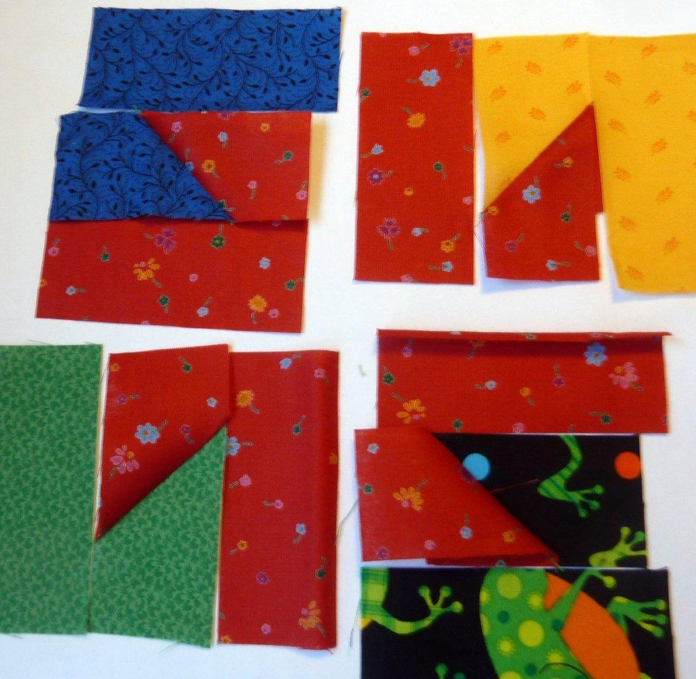 Nähanleitung Tessellationmuster