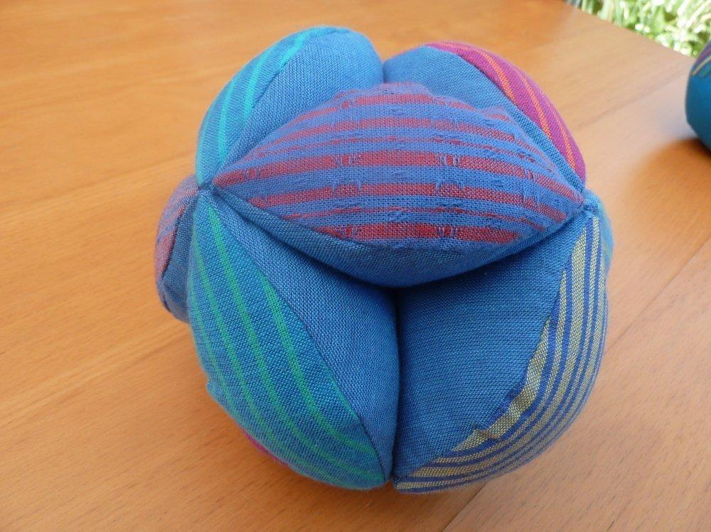 Nähanleitung Greifball für Babys