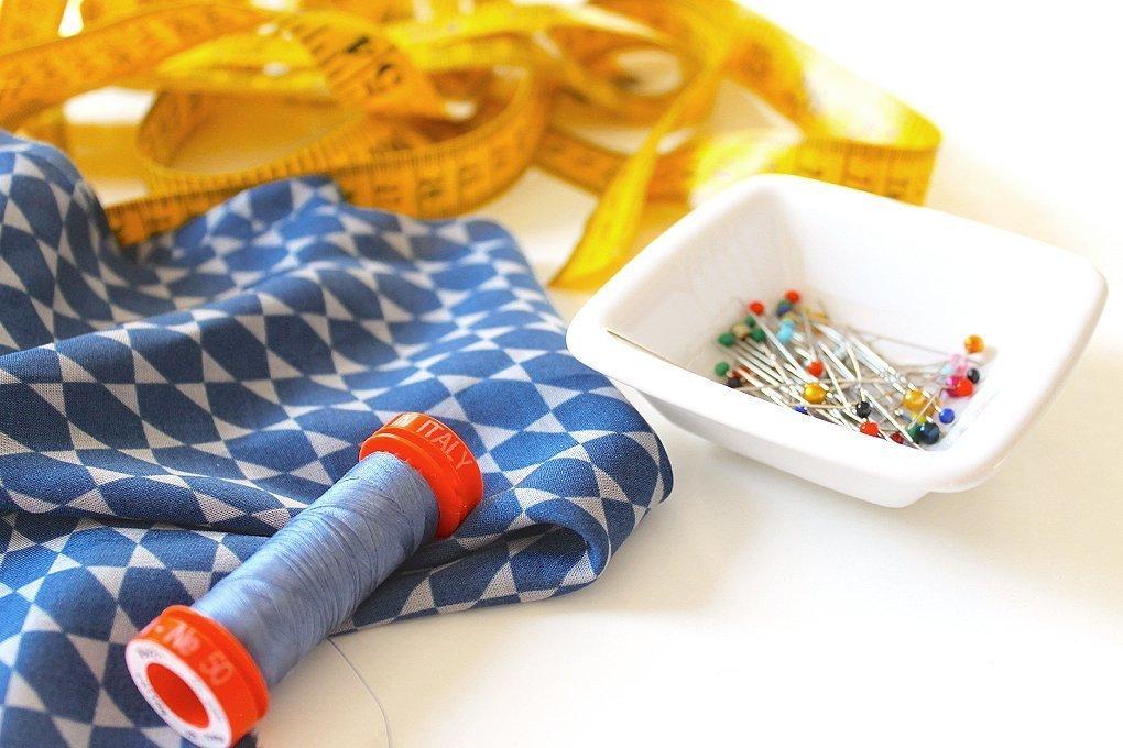 Schnittmuster Sommerkleid Material