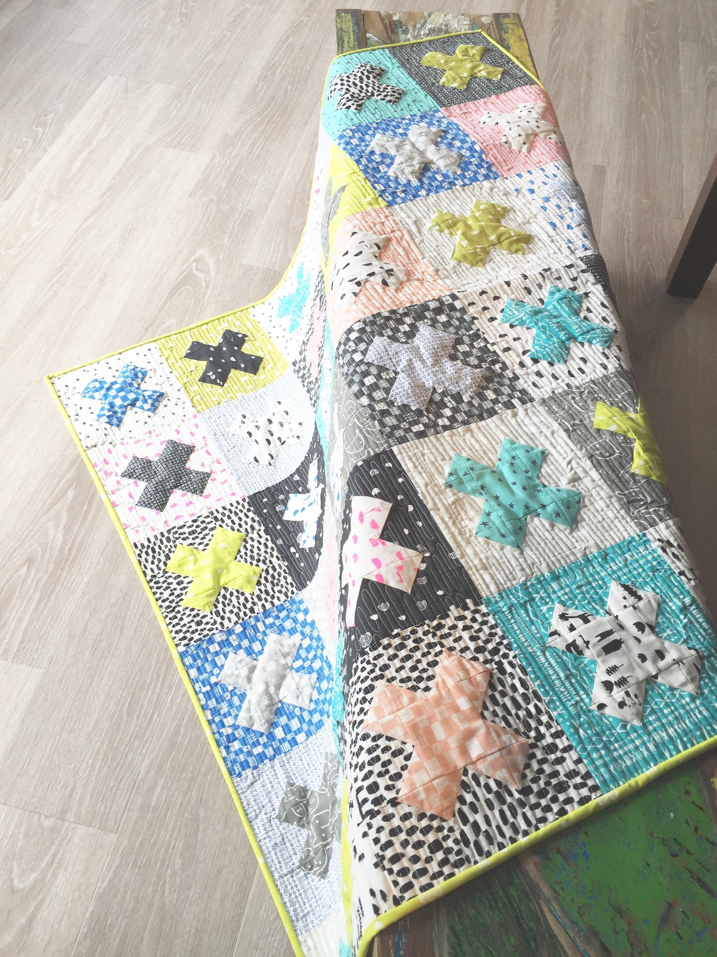 Cross Block das Quilting