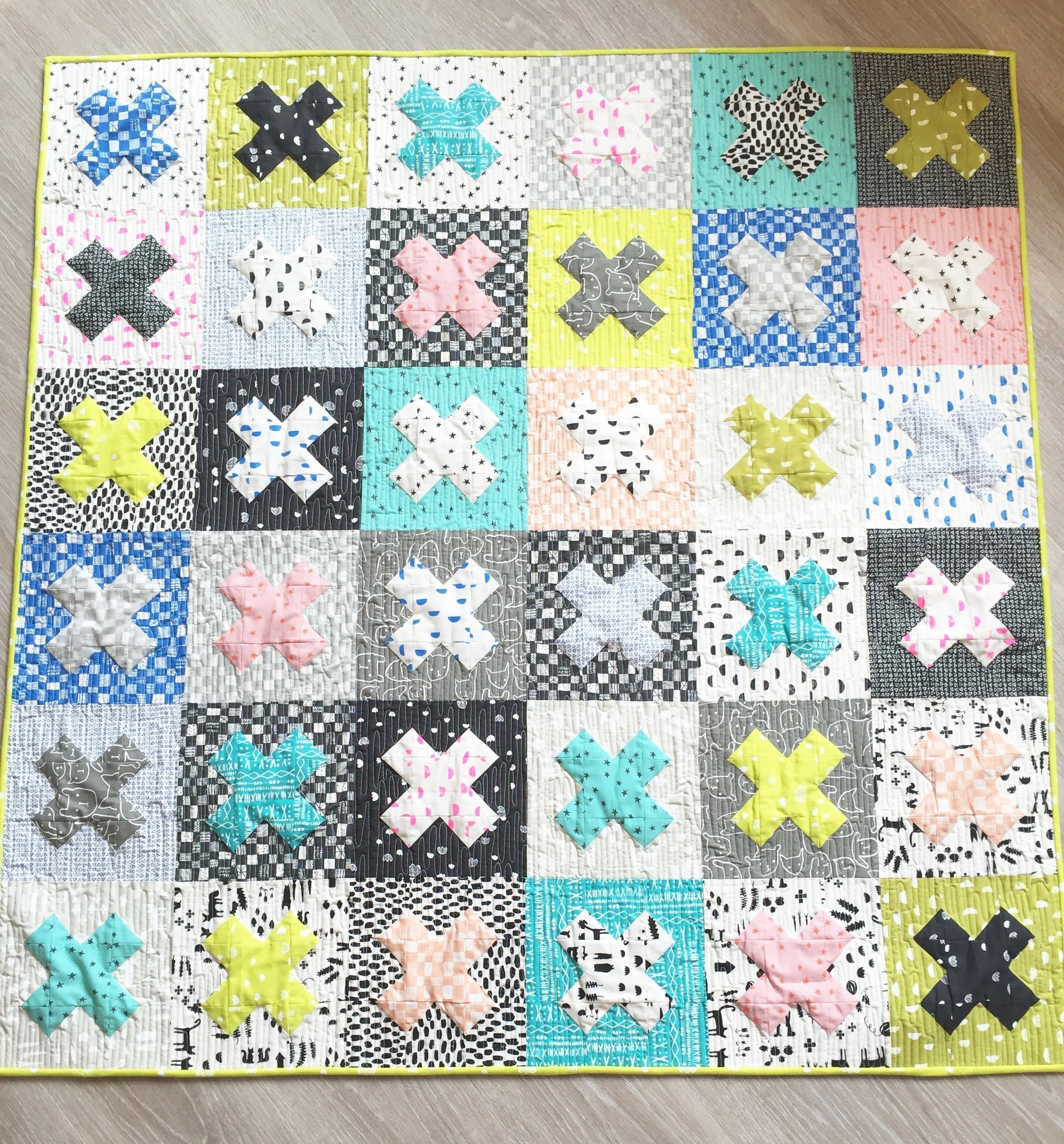 Cross Quilt diagonal