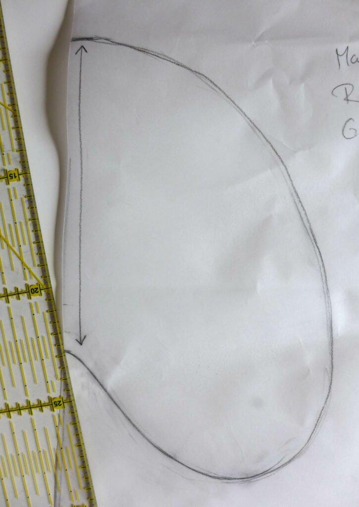 Nahttasche konstruieren Größe festlegen