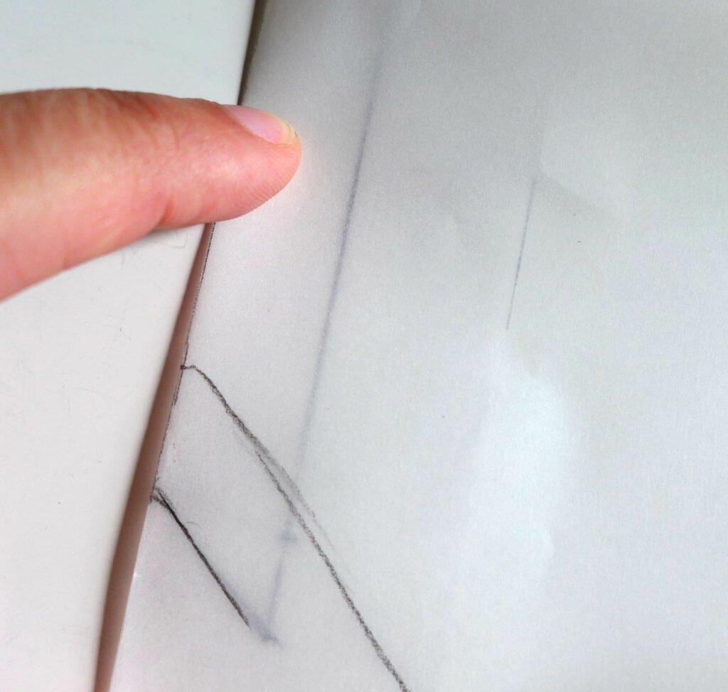 Nahttasche konstruieren Nahtzugabe spiegeln