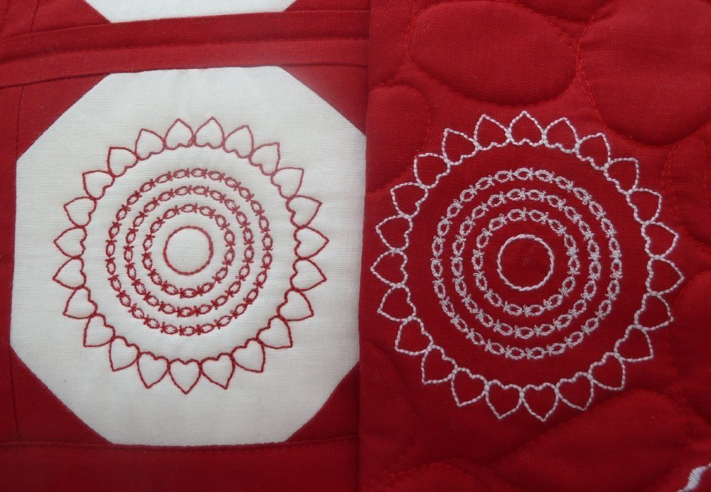 BERNINA-Mitmachaktion 2016: Wettbewerb Red and White Quilts