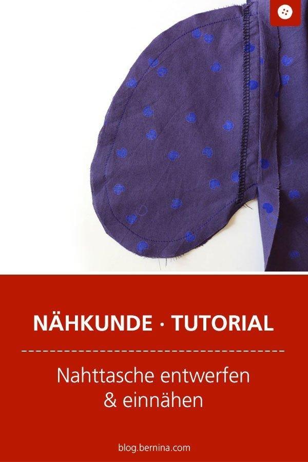 Kostenlose Nähanleitung für eine Nahttasche #nähen #kleidung #tasche #seitentasche #nahttasche #eingriff #frauen #tutorial #freebook #freebie #kostenlos #nähanleitung #diy #bernina #sewing