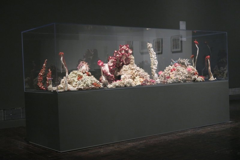 Institute For Figuring's Crochet Coral Reef project, 2005–ongoing. Foto: Courtesy of the Institute For Figuring Freundlicherweise vom MAD zur Verfügung gestellt