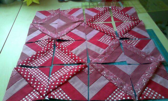 6die neuen Quadrate als Muster