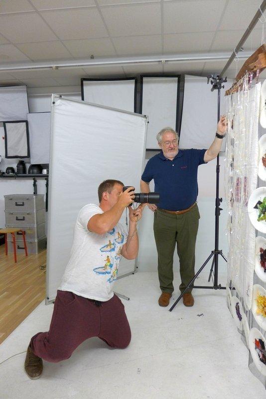 Fotoshooting für den Ausstellungskatalog 'MÄNNER' Foto: Gudrun Heinz