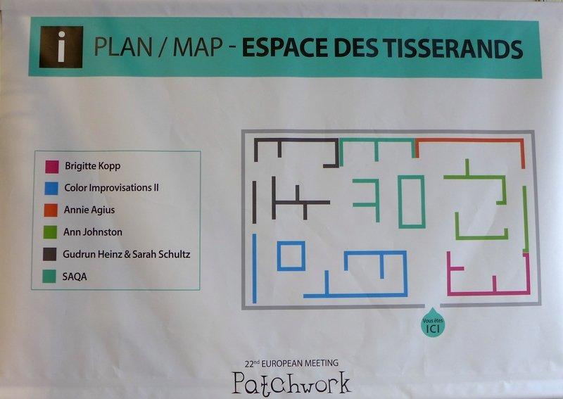 Aufteilung des Saales EPM 2016 Ste Marie-aux-Mines