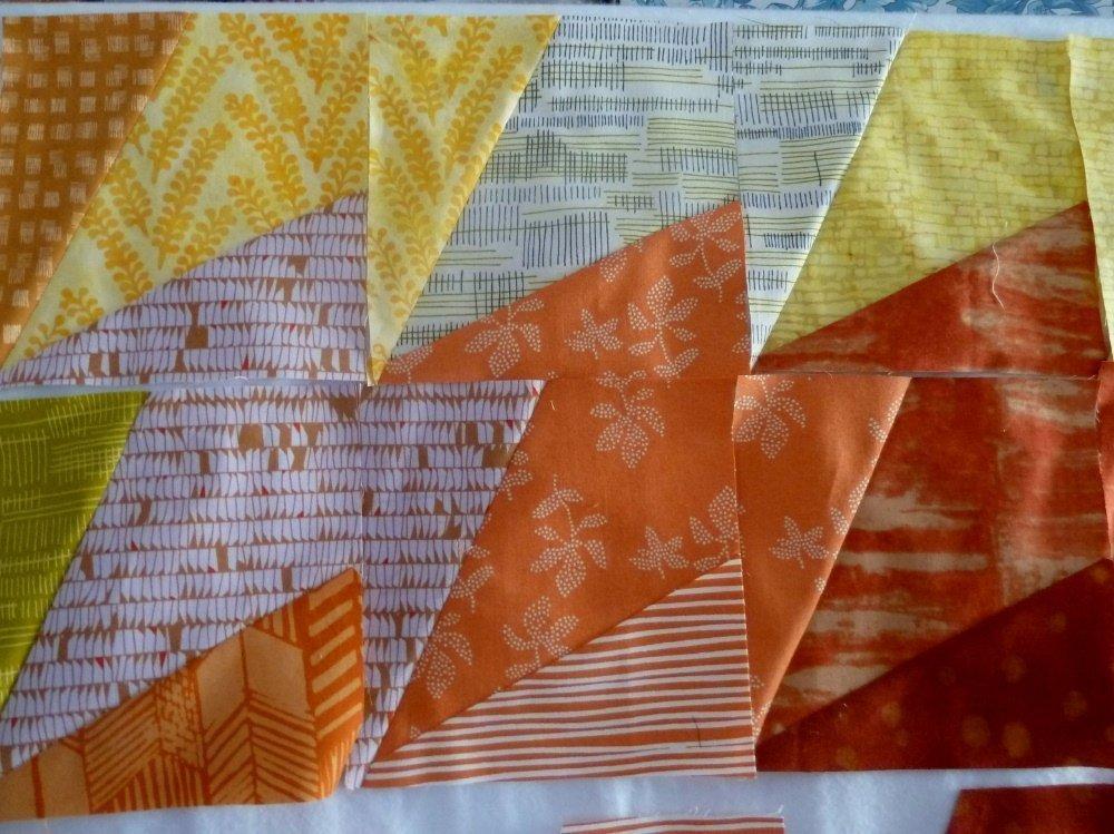 Nähanleitung Tessellationmuster Blätter