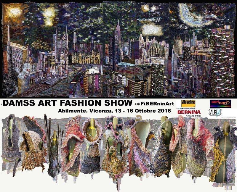 DAMSS ART FASHION SHOW mit FiBERninArt Foto: DAMMS