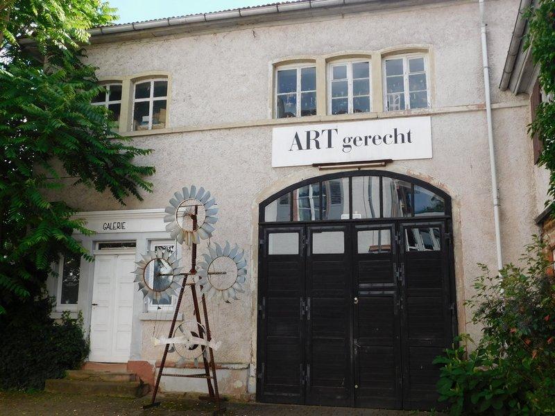 Galerie ART gerecht Foto freundlicherweise von Forum Art Quilt zur Verfügung gestellt.