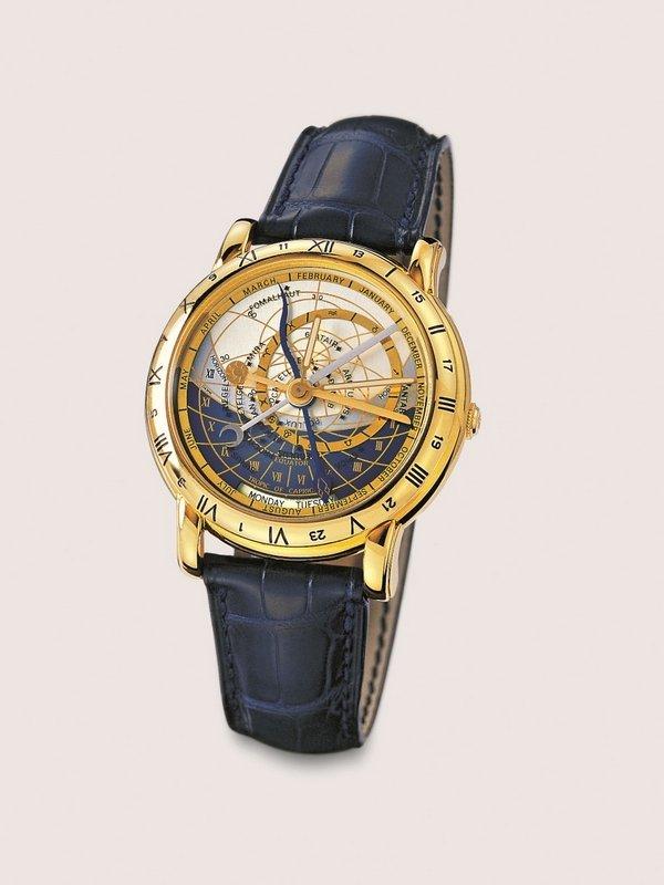 Astrolabium Galileo Galilei Ulysse Nardin, Le Locle, 1985 Foto freundlicherweise vom Schmuckmuseum Pforzheim zur Verfügung gestellt.