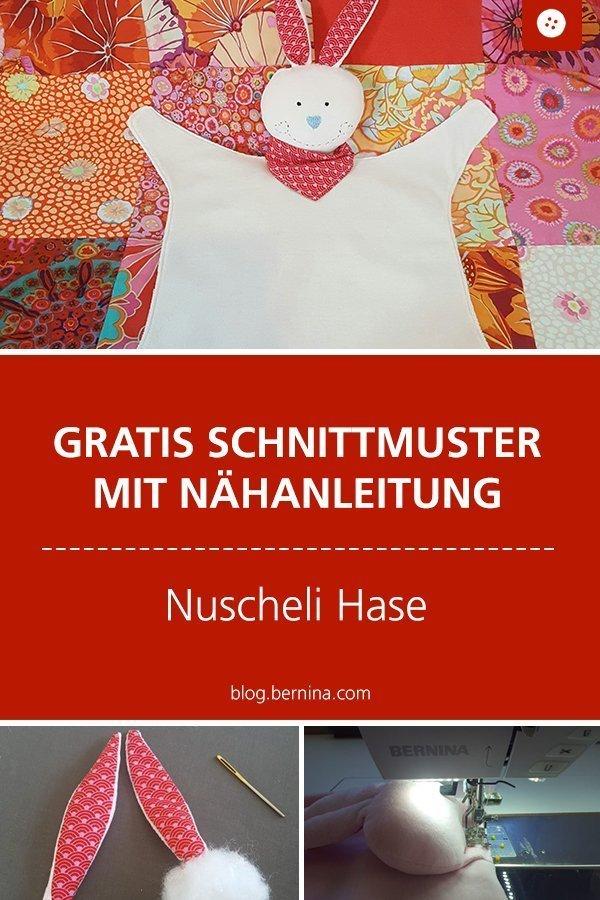 Kostenlose Nähanleitung für Nuscheli Fiona #baby #geburt #kind #kuschentier #nähen #tutorial  #freebook #freebie #kostenlos #nähanleitung #diy #bernina