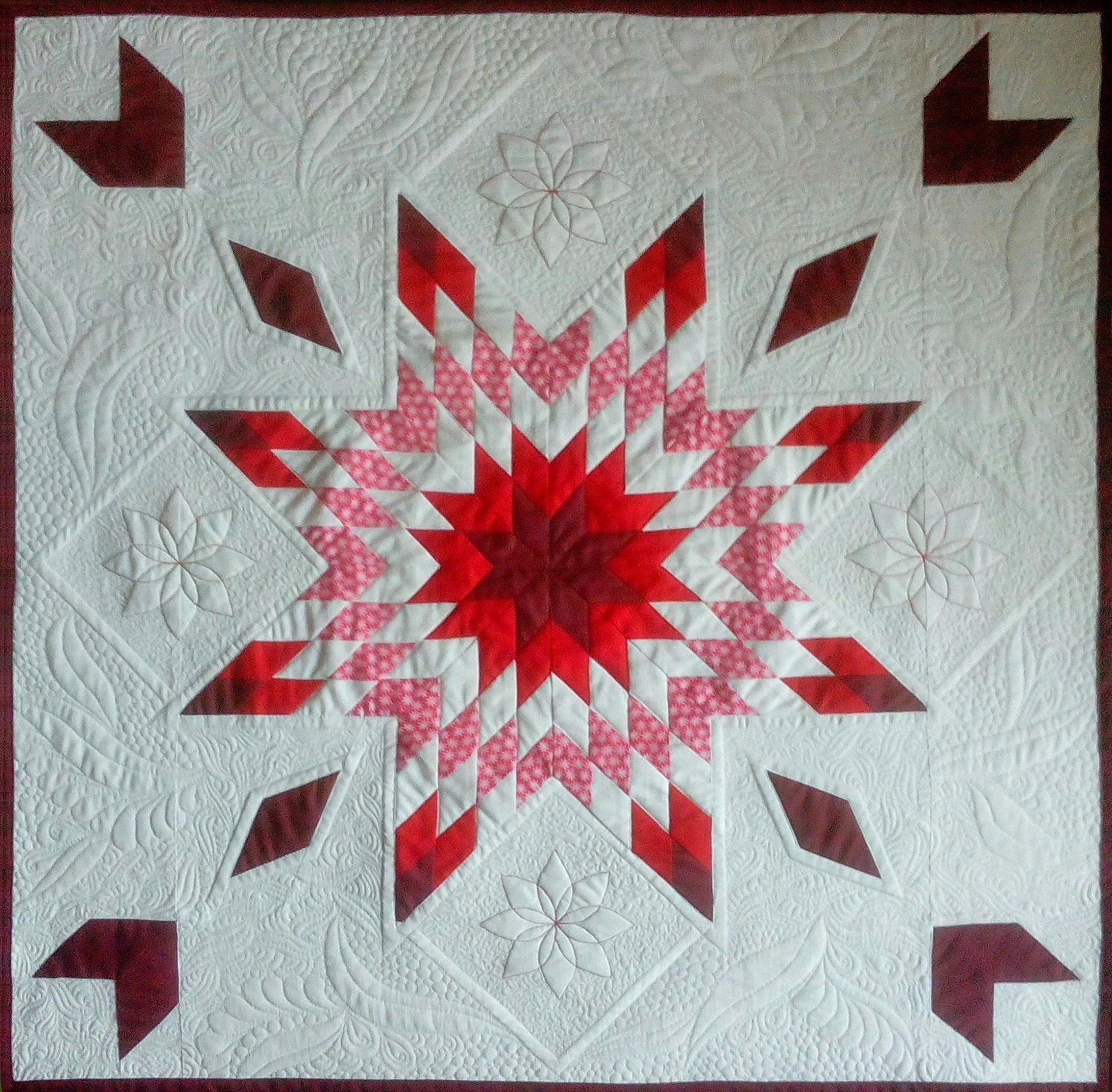 Red and White Quilts: die Gewinnerinnen unseres Wettbewerbs