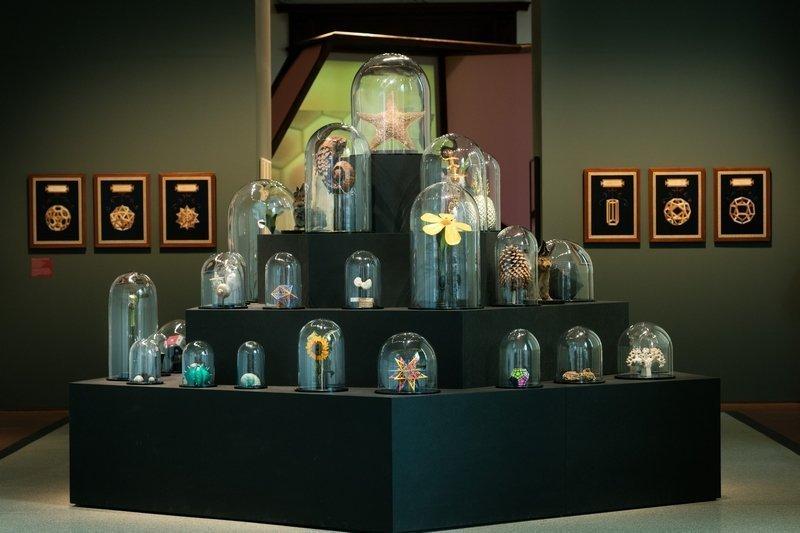 Wunderkammer © Museum für Kommunikation Berlin, Foto: Kay Herschelmann Foto freundlicherweise vom Museum zur Verfügung gestellt