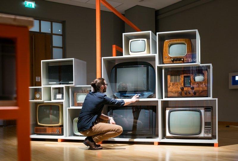 Bildschirmformate © Museum für Kommunikation Berlin, Foto: Kay Herschelmann Foto freundlicherweise vom Museum zur Verfügung gestellt