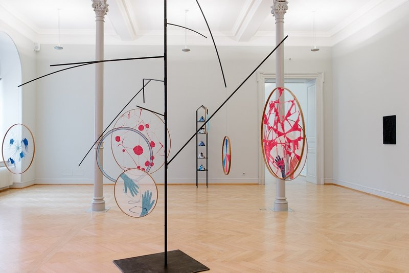 Installationsansicht St. Gallen Foto: Sebastian Stadler Foto freundlicherweise vom Kunstmuseum St. Gallen zur Verfügung gestellt