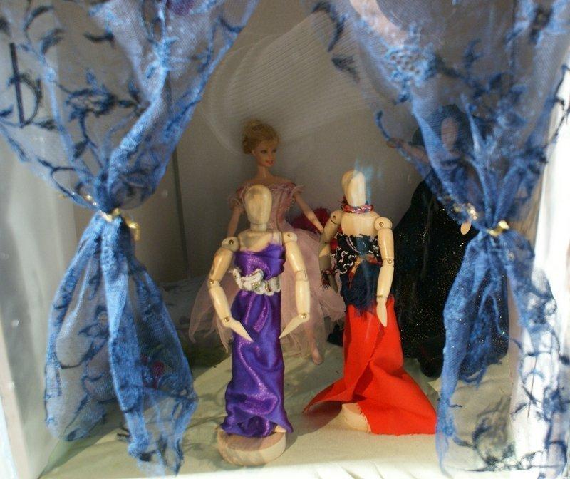 Im Salon: Ein Blick in die Haute Couture Foto: LWL/Irina Fernandes Foto freundlicherweise von Irina Fernandes zur Verfügung gestellt
