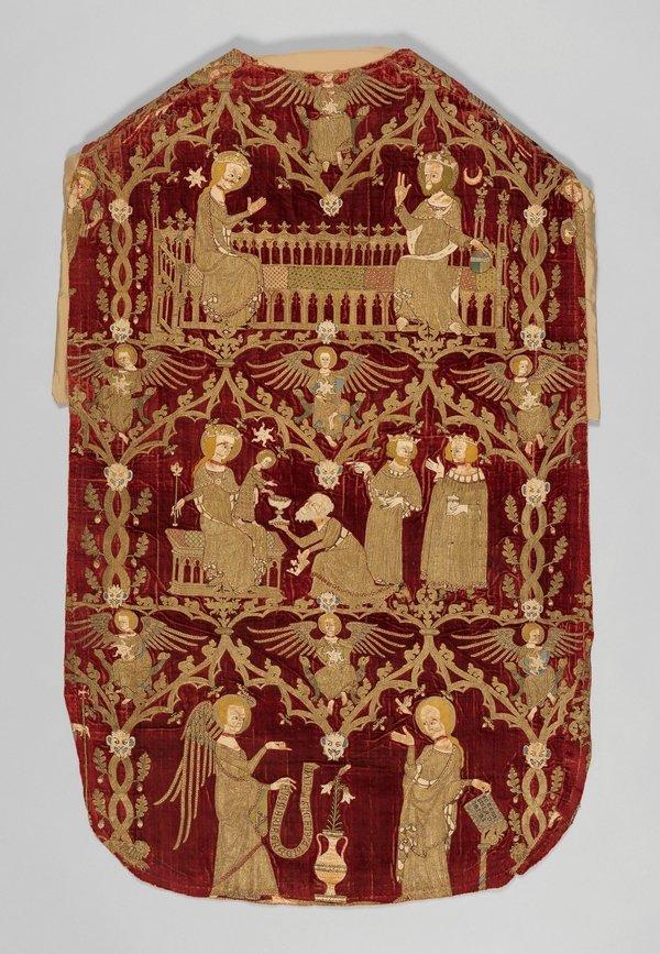 The Chichester-Constable Chasuble ca. 1335-45 © 2016. Image copyright: The Metropolitan Museum of Art/Art Resource/Scala, Florence Foto freundlicherweise vom Museum zur Verfügung gestellt