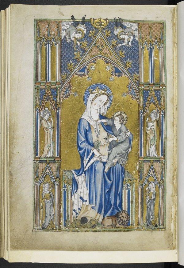 The De Lisle Psalter (Detail) ca. 1320 © The British Library Board, Arundel 83 Foto freundlicherweise vom Museum zur Verfügung gestellt