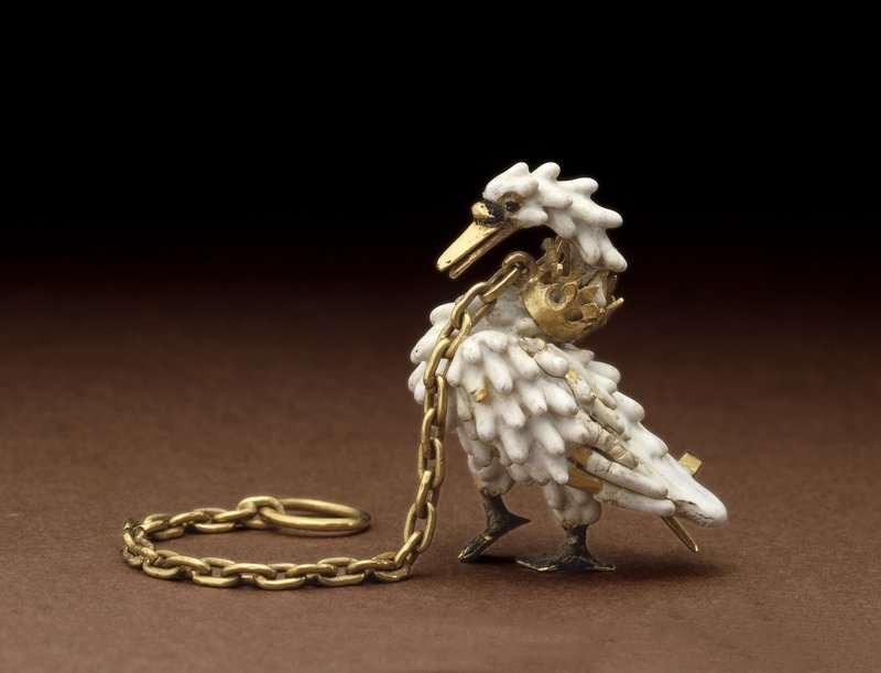 The Dunstable Swan Jewel ca. 1400 © The Trustees of the British Museum Foto freundlicherweise vom Museum zur Verfügung gestellt