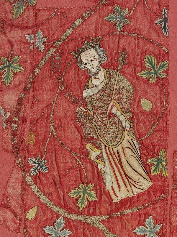 The Jesse Cope (Detail) ca. 1310-25 (c) Victoria and Albert Museum, London Foto freundlicherweise vom Museum zur Verfügung gestellt