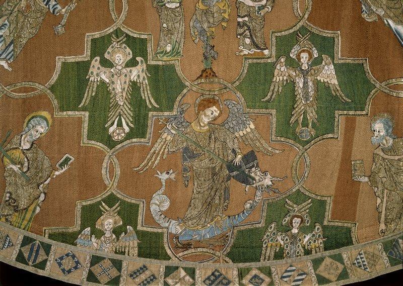 The Syon Cope (Detail) 1310-1320 (c) Victoria and Albert Museum, London Foto freundlicherweise vom Museum zur Verfügung gestellt
