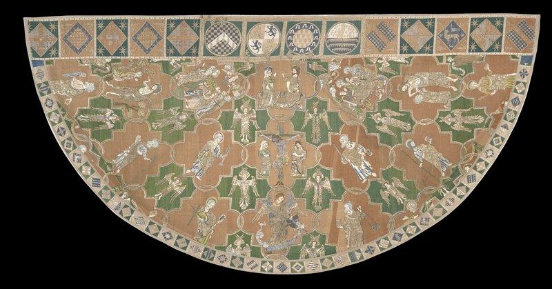 The Syon Cope 1310-1320 (c) Victoria and Albert Museum, London Foto freundlicherweise vom Museum zur Verfügung gestellt