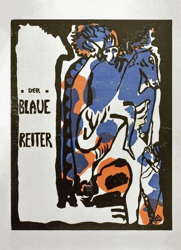 Wassily Kandinsky und Franz Marc (Hrsg.) Almanach Der Blaue Reiter, München, 1914 29,5 x 23 x 2,5 cm ahlers collection © Thomas Ganzenmüller, Hannover