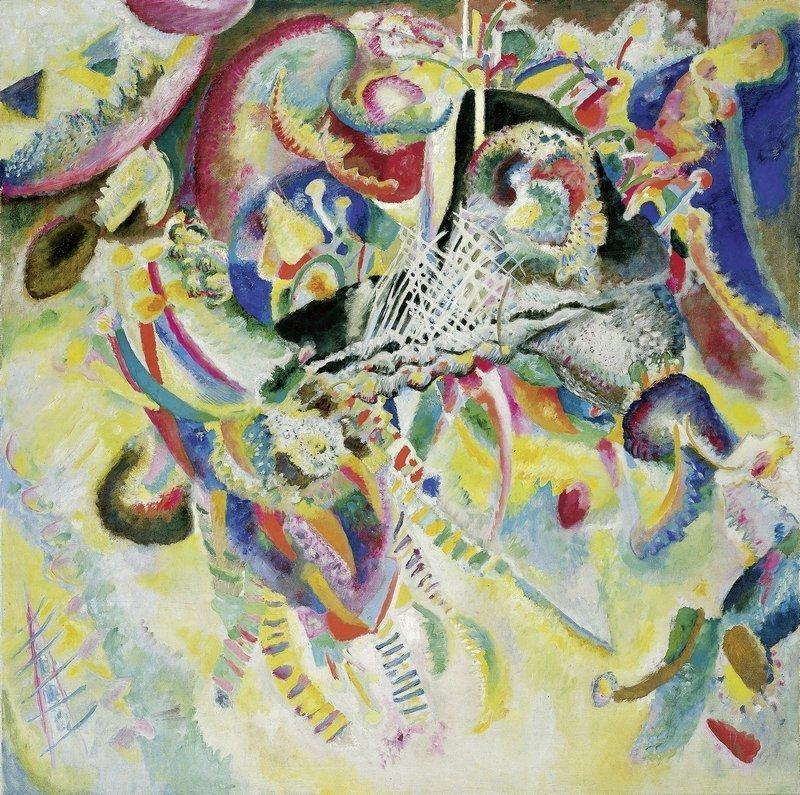 Wassily Kandinsky Fuga, 1914 Öl auf Leinwand, 129,5 x 129,5 cm Fondation Beyeler, Riehen/Basel, Sammlung Beyeler Foto: Robert Bayer, Basel