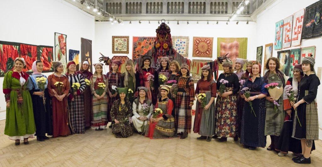 Folkloreprogramm aus Udmurtien