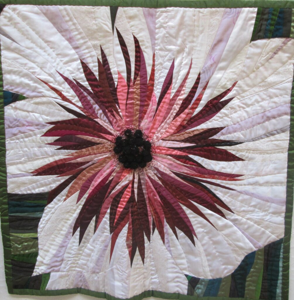 Anemone, 90x90cm