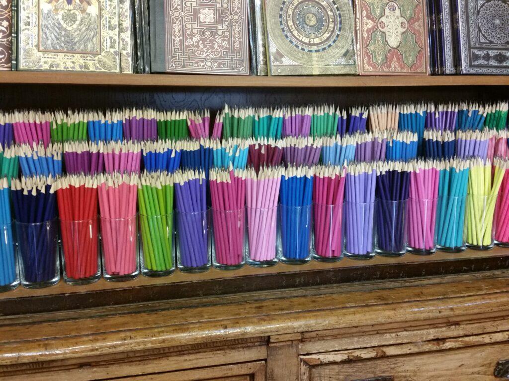 Bleistifte in 1000 Farben