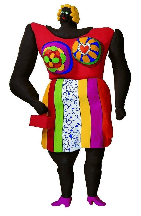 Niki de Saint Phalle: Dolorès 1966−1995 Polyester, bemalt, auf Maschendraht, 7-teilig Sprengel Museum, Hannover Foto: Michael Herling © 2016 Niki Charitable Art Foundation. All rights reserved.