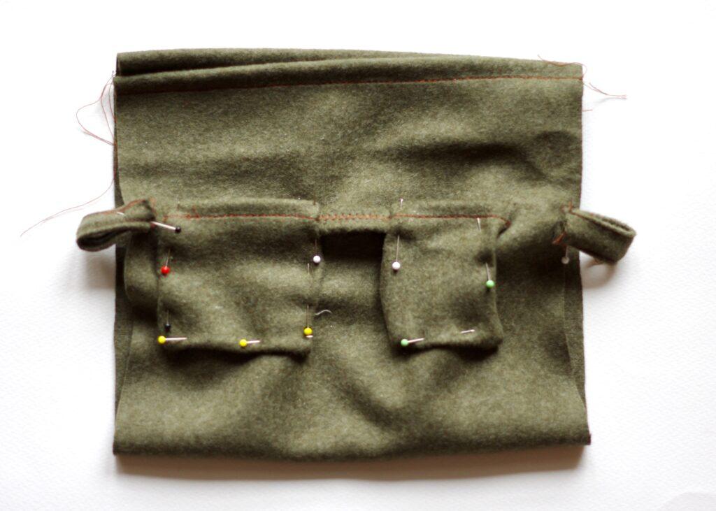 Taschen stecken