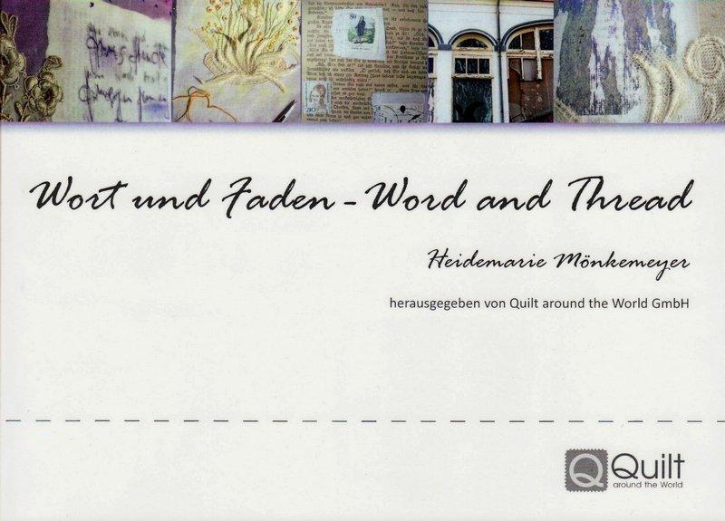 Heidemarie Mönkemeyer: Wort und Faden - Cover