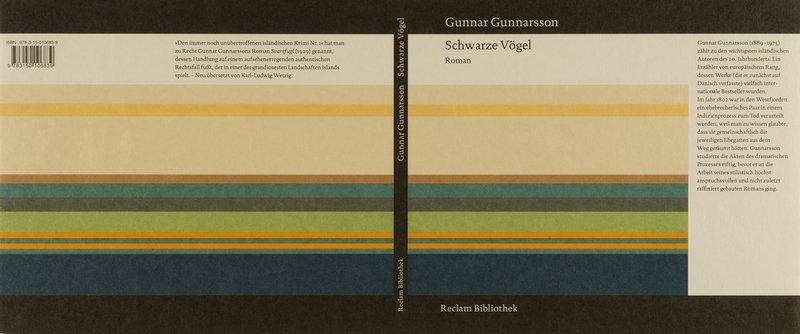 Gunnar Gunnarsson Schwarze Vögel, 2009 © Reclam Verlag