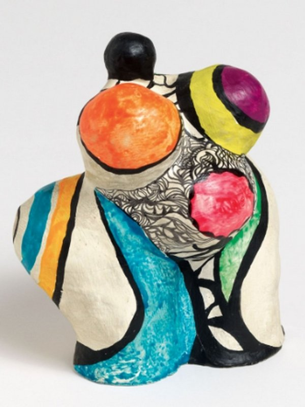Niki de Saint Phalle: Mini Nana Maison 1968 Kunstharz, bemalt Courtesy Galerie GP & N Vallois, Paris © 2016 Niki Charitable Art Foundation. All rights reserved.
