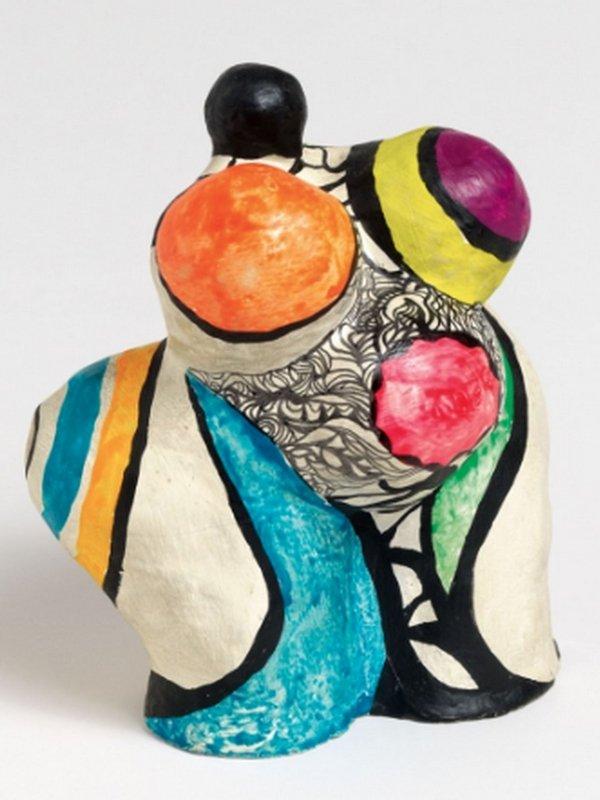 Niki de Saint Phalle: Mini Nana Maison 1968 Kunstharz, bemalt Courtesy Galerie GP & N Vallois, Paris © 2016 Niki Charitable Art Foundation. All rights reserved.