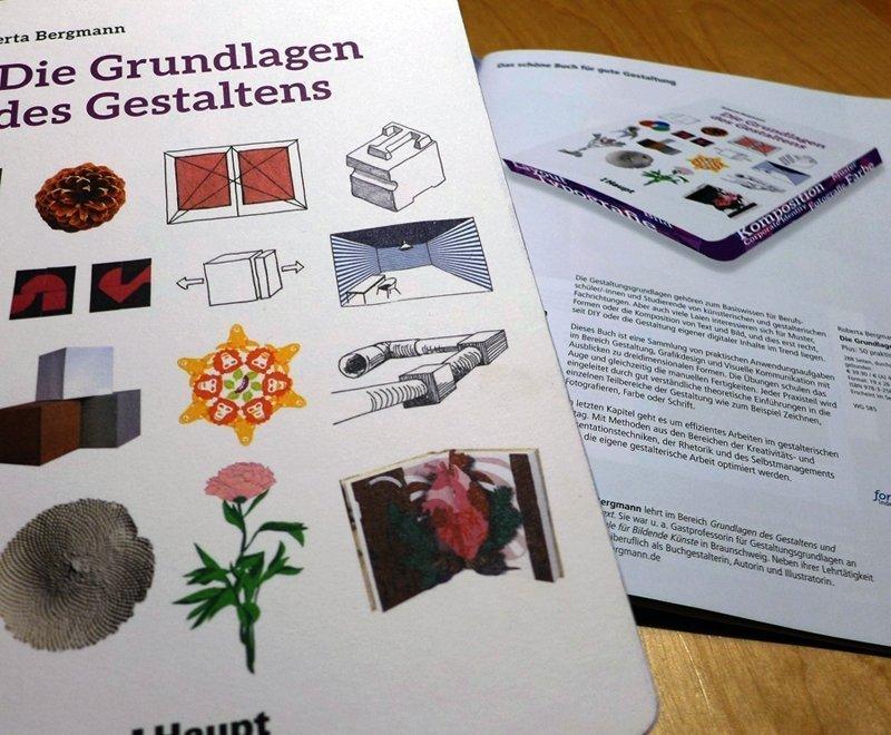 Roberta Bergmann: Die Grundlagen des Gestaltens - Detail Foto: Gudrun Heinz