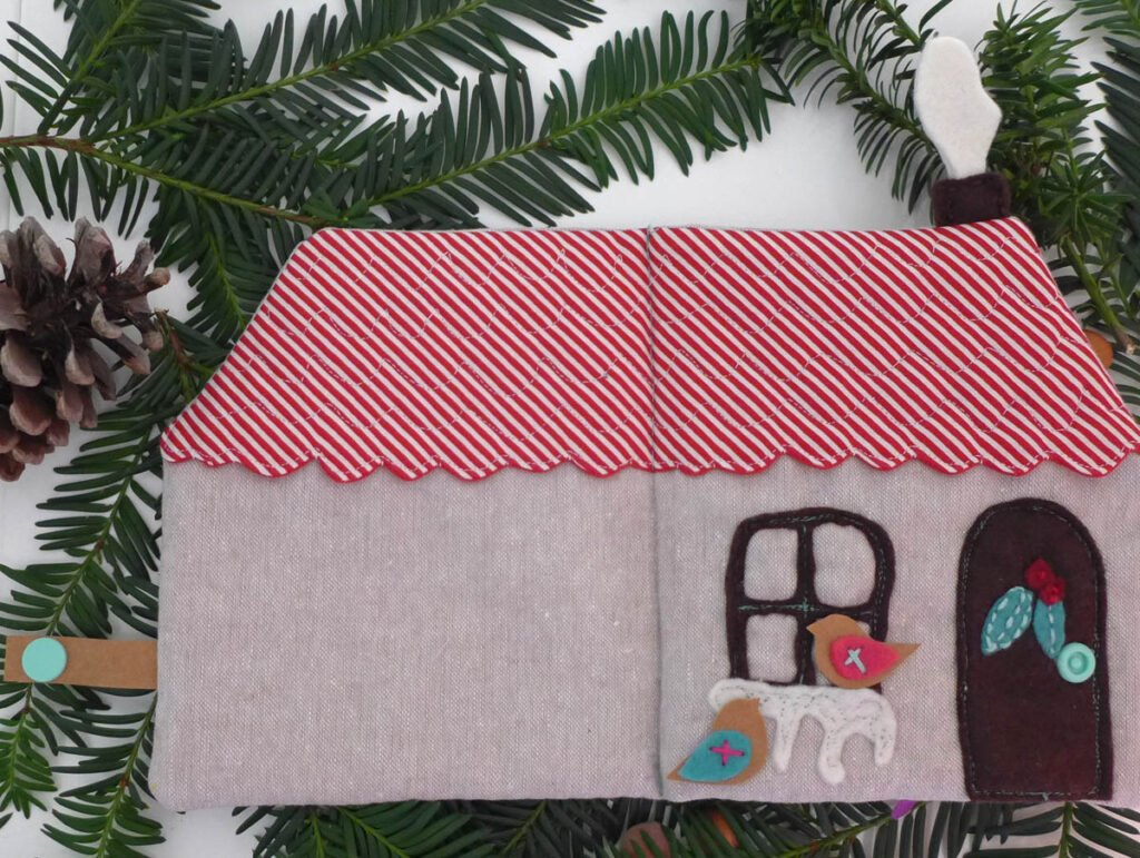 Quietbook Weihnachten Außen komplett2