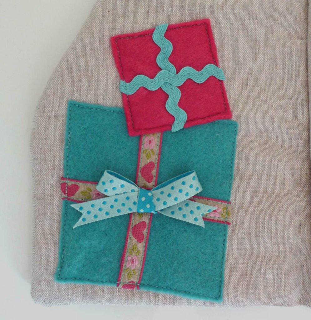 Quietbook Weihnachten Geschenke