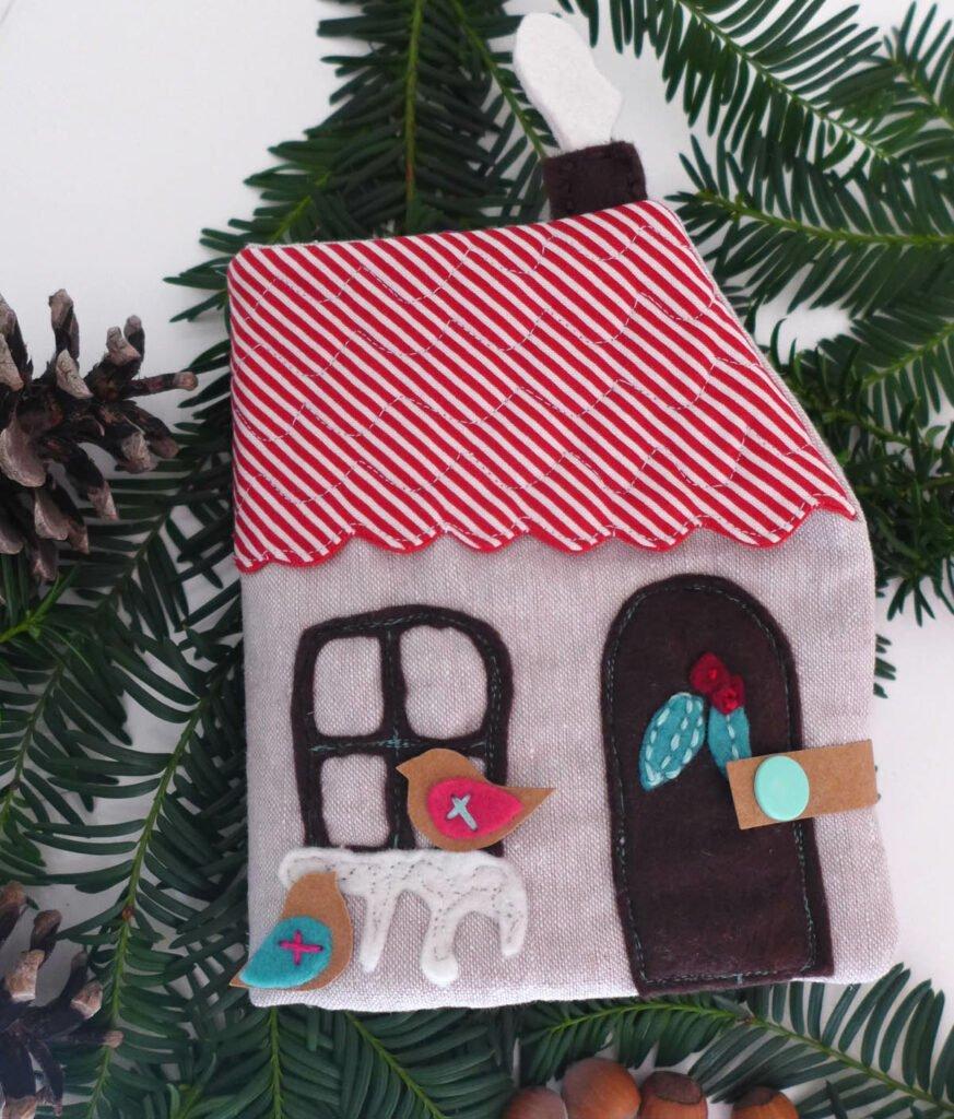 Quietbook Weihnachten Vorderseite