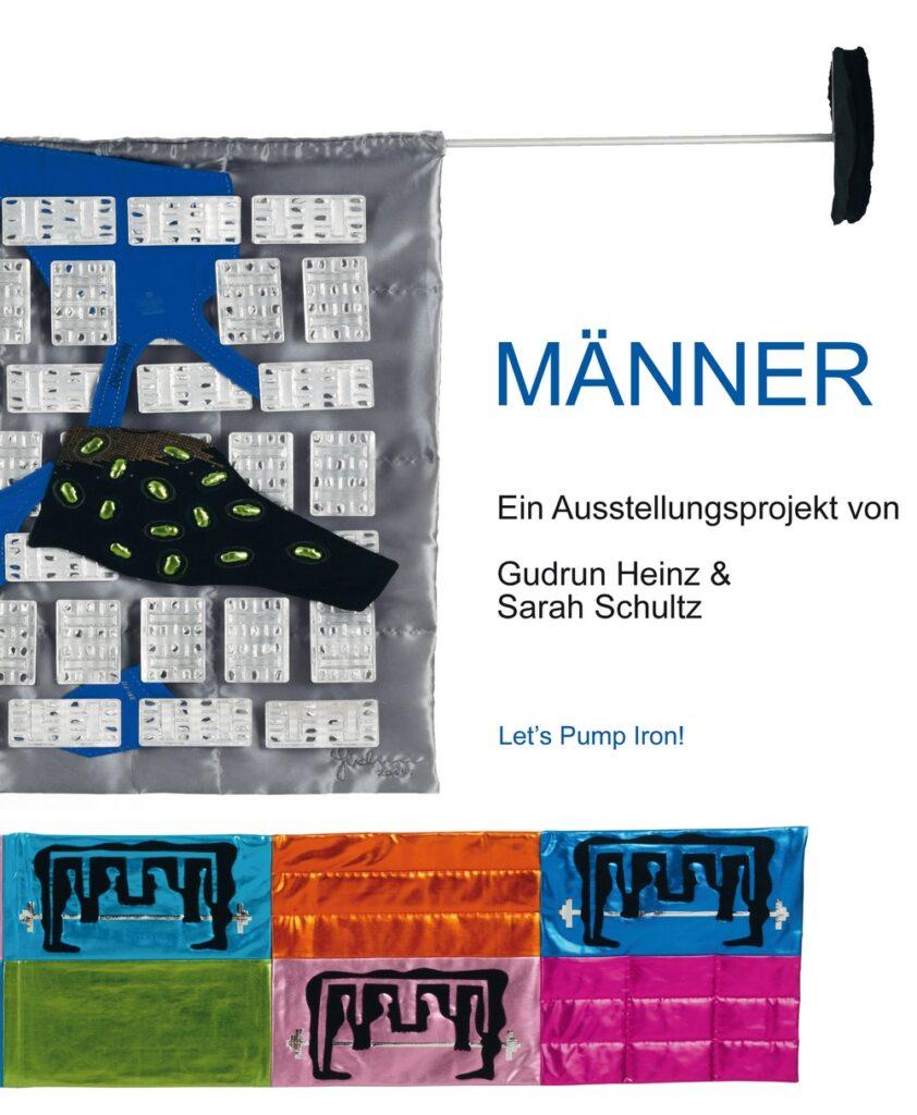 MÄNNER Katalog zum Ausstellungsprojekt von Gudrun Heinz & Sarah Schultz - Cover