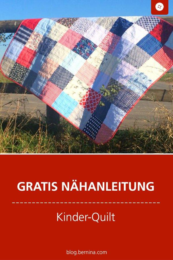 Kostenlose Nähanleitung: Quilt für Babies & Kinder nähen