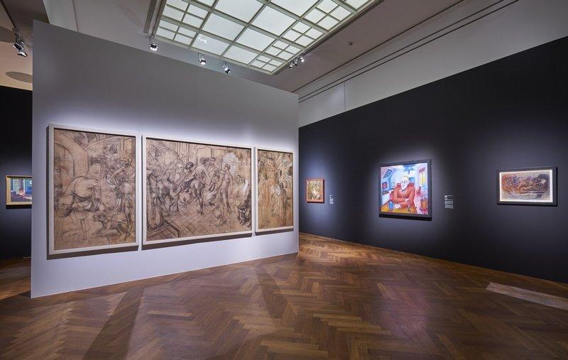 Ausstellungsansicht 'Geschlechterkampf. Franz von Stuck bis Frida Kahlo' Foto: Städel Museum