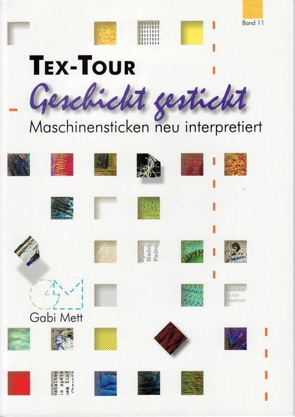 Gabi Mett: Geschickt gestickt – Maschinensticken neu interpretiert - Cover