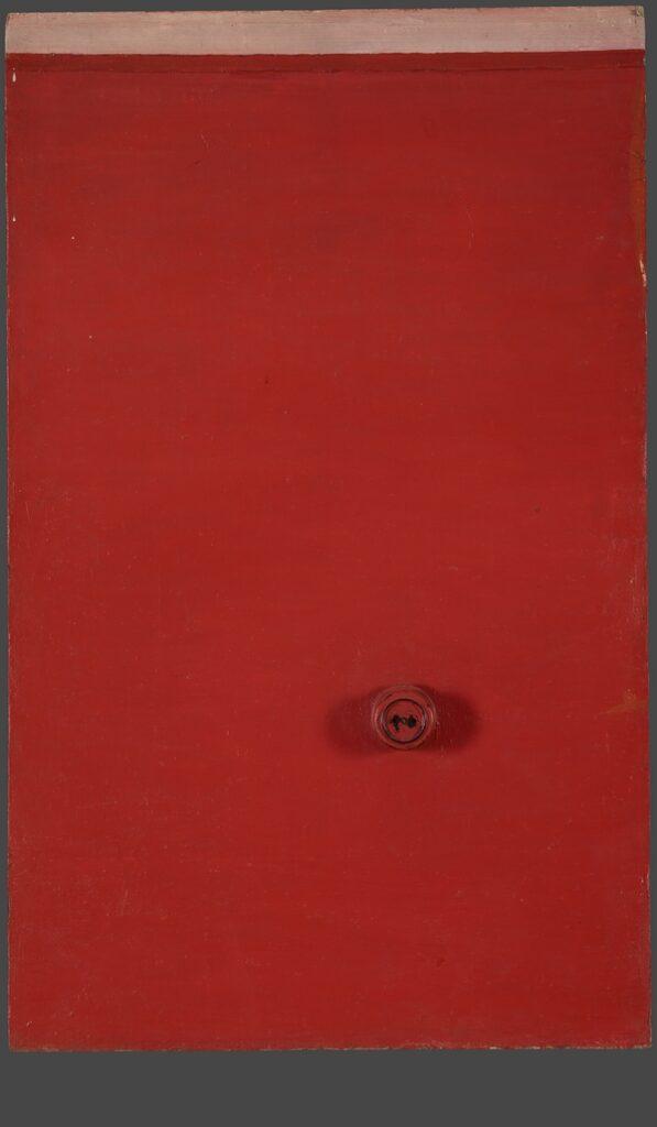 Michail Roginskij: Wall with socket 1965 Öl auf Leinwand montiert auf Sperrholzplatte, 105 x 64,5 x 7 cm The State Tretyakov Gallery, Moscow © ACS 2016